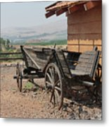 On A Kibbutz Metal Print