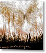 On A Wing And A Prayer Metal Print