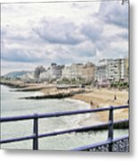 On Brighton's Palace Pier Metal Print