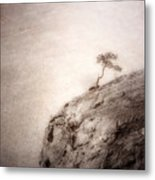 On Edge Metal Print
