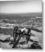 On Guard At Point Park Lookout Mountain In Tennessee Metal Print