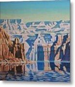 On Lake Powell Metal Print