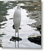 On Solid Rock Metal Print