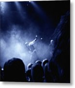 On Stage Metal Print