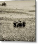 On The Battlefield - Gettysburg Metal Print