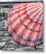 On The Boardwalk In Gulf Shores Metal Print