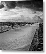 On The Boardwalk Metal Print
