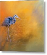 On The Cusp Of Autumn Metal Print