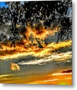On The Edge Of Night Metal Print