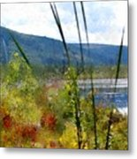 On The Edge Of Reality Metal Print