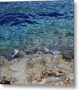 On The Edge Of The Crescent Metal Print