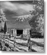 On The Farm Metal Print by Joann Vitali