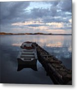 On The Gouin Reservoir In Quebec Metal Print