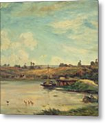 On The Loire Metal Print