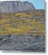 On The Matanuska Glacier Metal Print