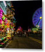 On The Midway Metal Print