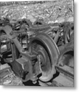 On The Quincey Rails  Metal Print