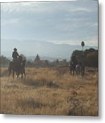 On The Range Metal Print