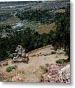 On The Road To Virginia City Nevada 15 Metal Print