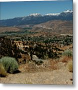 On The Road To Virginia City Nevada 20 Metal Print