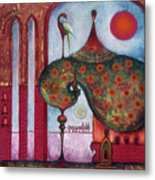 On The Rooftop Of The World Metal Print
