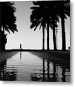 Brickell Run Metal Print