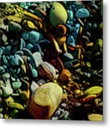 On The Shores Of My Imagination Metal Print