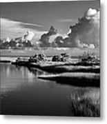 On The Sound Side Metal Print