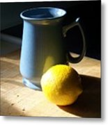 On The Table 3 - Photograph Metal Print