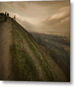 On The Top Of The World Metal Print