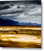 On The Way To Death Valley Metal Print