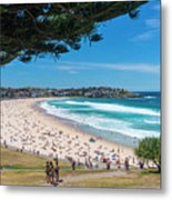 On The Way To The Beach. Metal Print