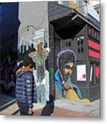 On U Street Metal Print