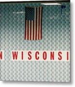 On Wisconsin  Metal Print