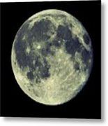 Once In A Blue Moon Metal Print by Candice Trimble