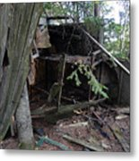 Once Upon A Cabin Metal Print