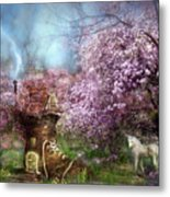 Once Upon A Springtime Metal Print