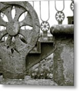 Once Upon A Stairway Metal Print