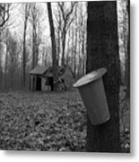 Once Upon A Time At The Sugar Shack Metal Print