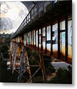 Once Upon A Time In Any Town Usa Metal Print