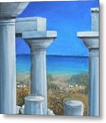 Once Upon A Time In Greece Metal Print