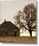Once Upon A Time In West Texas Metal Print