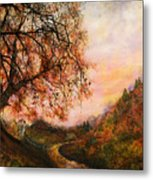Once Upon October Metal Print by Patricia Motley