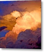 One Cloudy Afternoon Metal Print