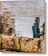 One Clousy Day Ago Metal Print