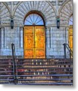 One Door And Only One Metal Print