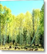 One Drunk Tree Metal Print
