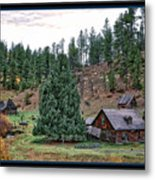 One Fall Day Metal Print