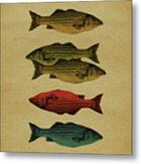 One Fish, Two Fish . . . Metal Print