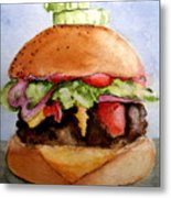 One Hearty Meal Metal Print